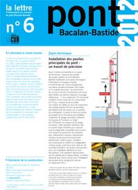 Lettre d'information du Pont n°6 - 1er semestre 2012 - Document Pdf 552ko