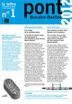Lettre d'information du Pont n°1 - 2ème trimestre 2010 - Document Pdf 960Ko