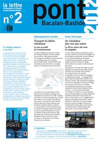 Lettre d'information du Pont n°2 - 4ème trimestre 2010 - Document Pdf 960Ko